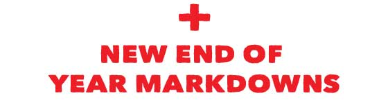 New Clearance Mark Downs
